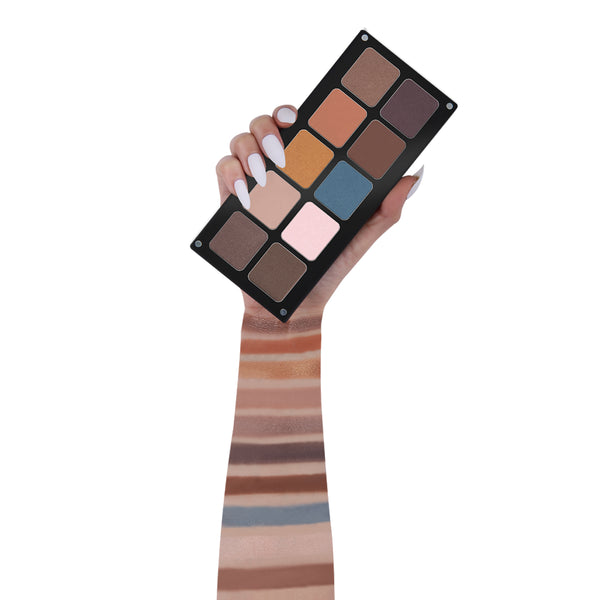 10 Color Natural Matte Eyeshadow - NEP003
