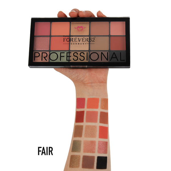 15 Color Natural Glow Eyeshadow Palette - NGE002