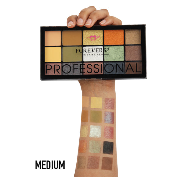 15 Color Natural Glow Eyeshadow Palette  - NGE004