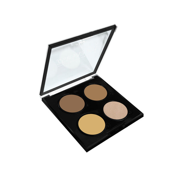 4 Color Highlighter Contour Powder - SHC001