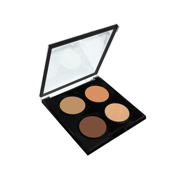 4 Color Highlighter Contour Powder - SHC002