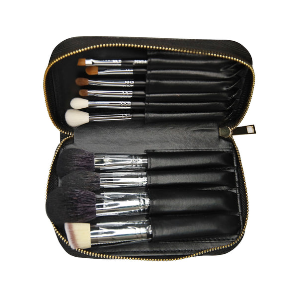 Wanderlust 10 piece brush set (BLACK) - X068 B