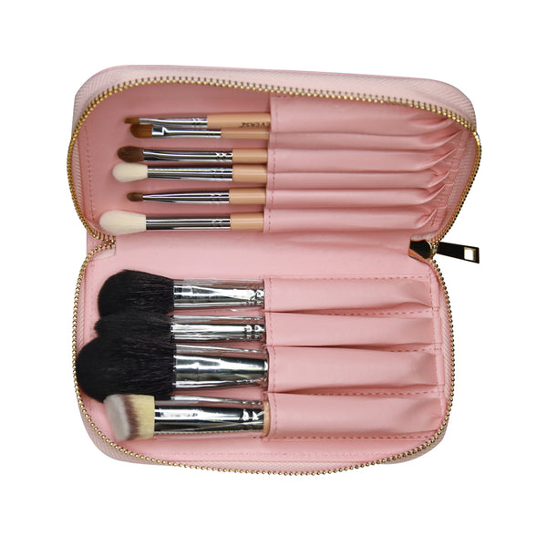 Wanderlust 10 piece brush set (PINK)- X068 P