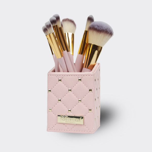 Luxurious Touch 12 Piece Brush Set (Pink) - X070
