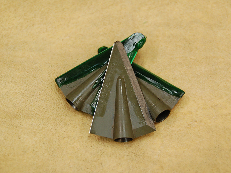 Abowyer Bonehead Broadheads (2 blade, glue on)