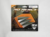 Zwickey No Mercy Broadheads (2 blade, glue-on) Pack of 3 (Sorry Out of stock)