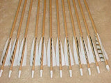 60-65# Falcon Arrows – cedar, gray bar/white