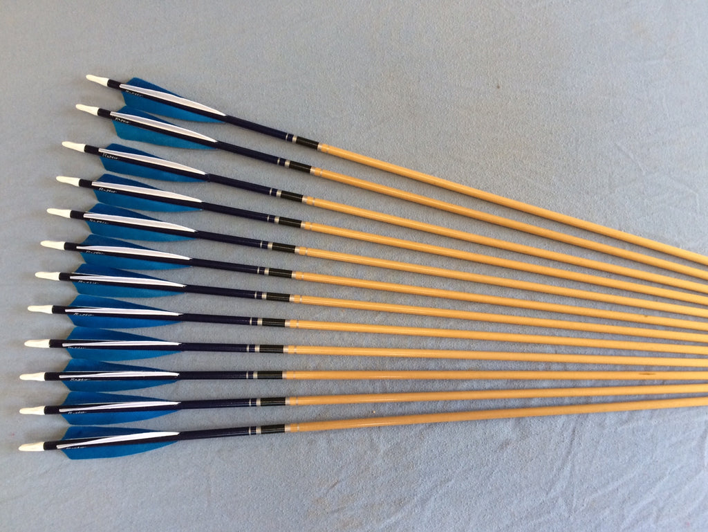 40-45# Hawk Arrows – Spruce, Blue