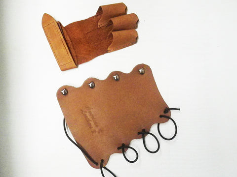 Children's 4-Clasp Arm Guard & Glove