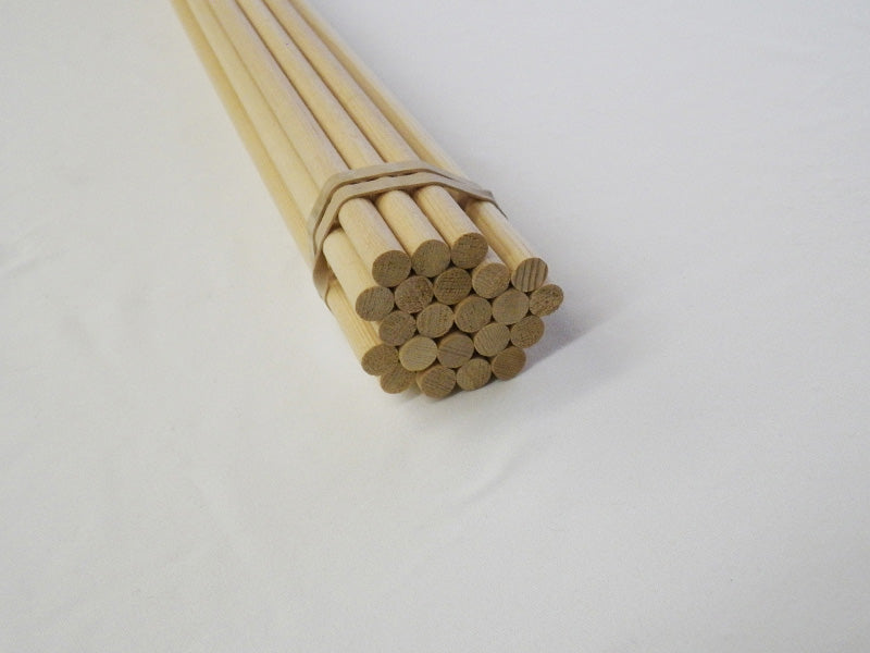 Tapered Sitka Spruce Shafts