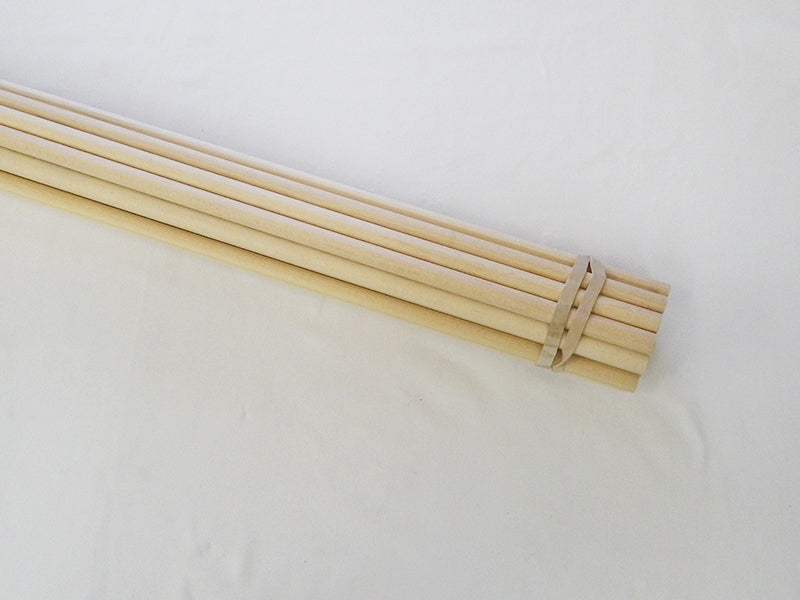 Parallel Sitka Spruce Shafts