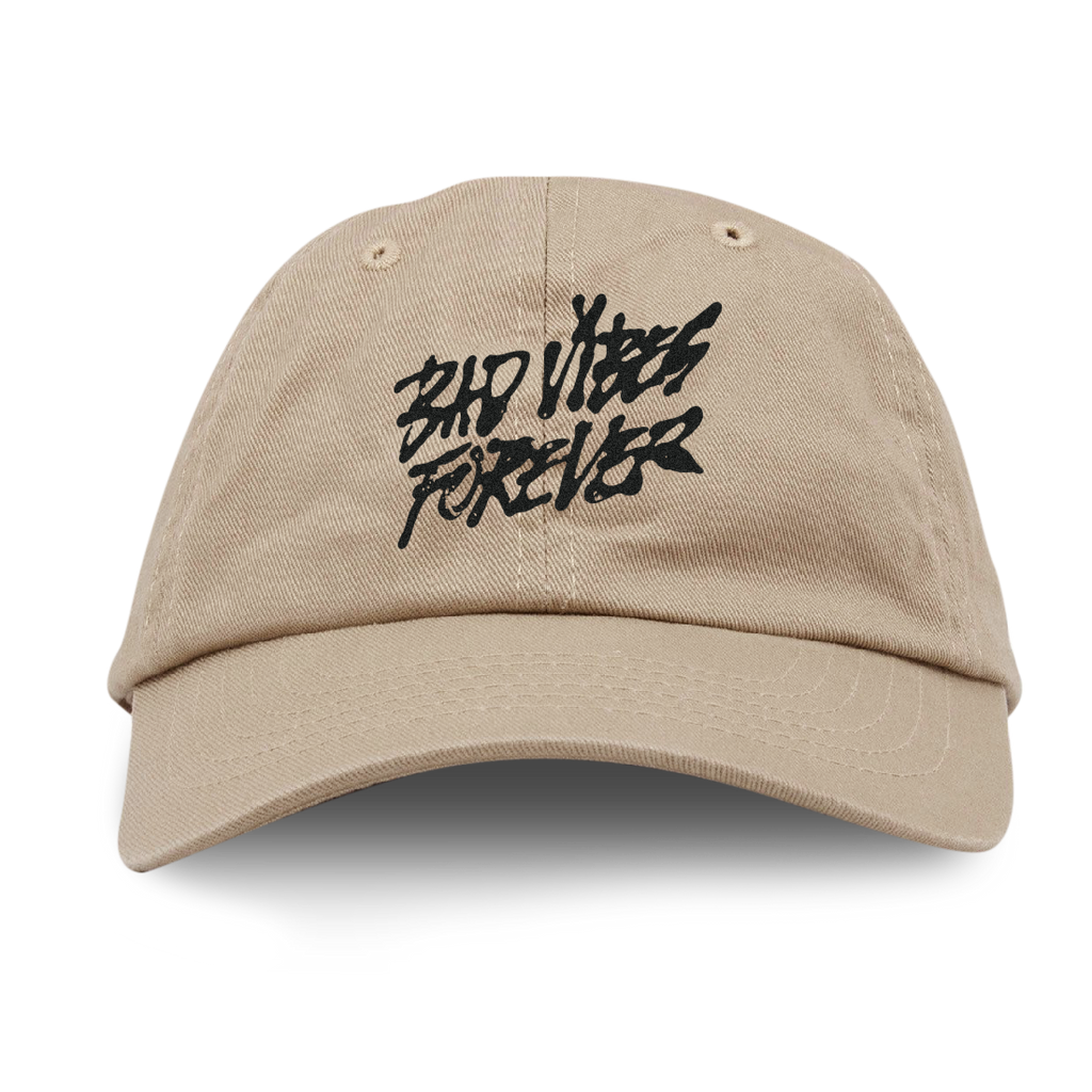 BAD VIBES FOREVER TAN DAD HAT + DIGITAL ALBUM
