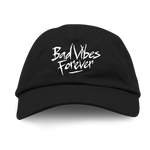 BAD VIBES FOREVER BLACK DAD HAT + DIGITAL ALBUM