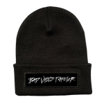 BLACK BAD VIBES FOREVER BEANIE + DIGITAL ALBUM
