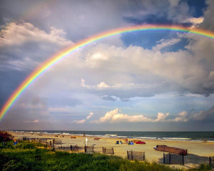 Hilton Head Island - Beach rainbow