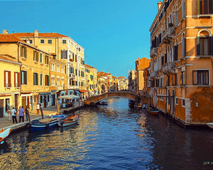 Italy - Canal in Venice