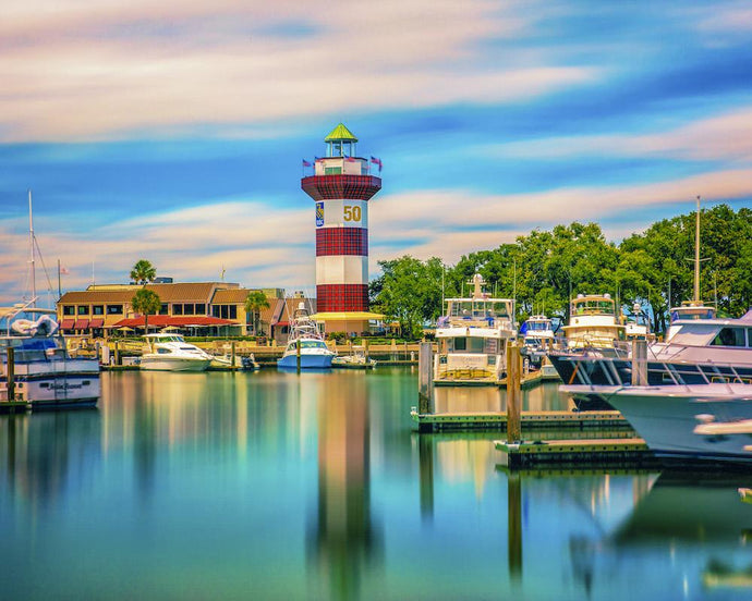 Head Island Island - Harbour Town Lighthouse 50th RBC Heritage