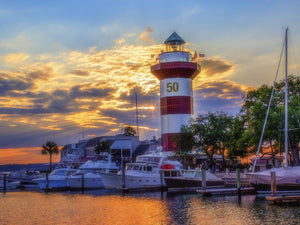 Head Island Island - Sunset 50th RBC Heritage Harbour Town Marina