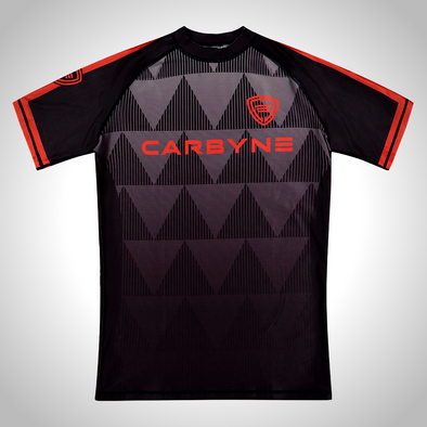 Carbyne Industries Mechanic Black Red Rashguard Brazilian Jiu JItsu BJJ NOGI Shawn Williams