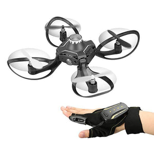 2.4G Glove Control Interactive Mini Drone / Alitude Hold Gesture Control RC Quadcopter for Beginners