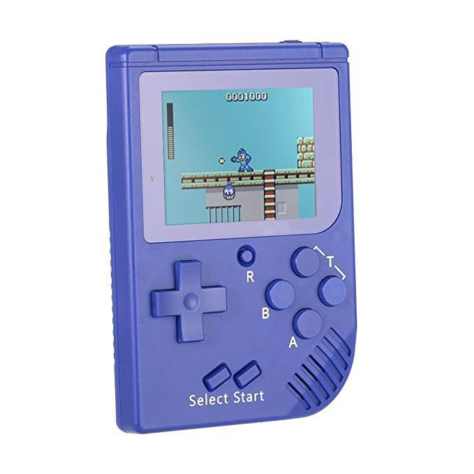 Retro Pocket Handheld Video Game Console 3INCH FC Mini Portable Game Player Built-in 300 Games