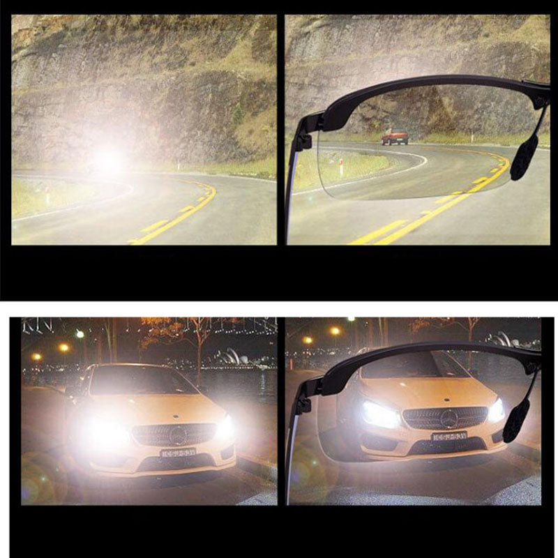 [37% OFF NOW!] Night Drive Make Driving Easy Day & Night HD Vision Goggles Anti-Glare Glasses MAX