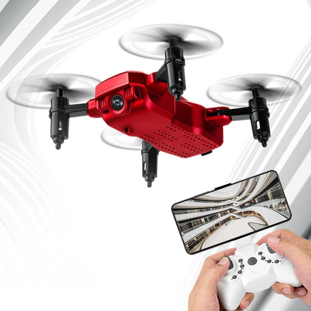 Foldable Mini RC Drone WiFi Altitude Hold One Key Takeoff Quadcopte