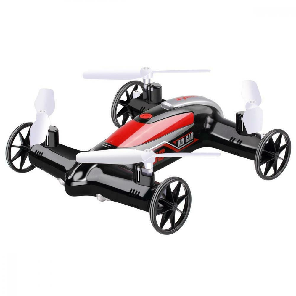 [47% OFF NOW!] 2.4G 4CH 6-Axis RC Fly Car Nerf Quadcopter Mini Drone Air-Land Dual Headless Mode