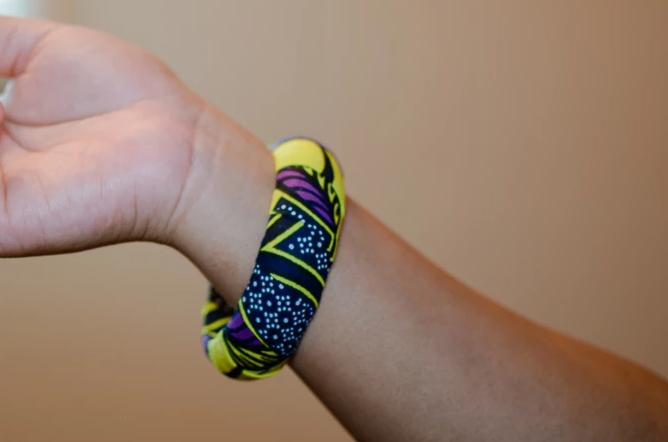 Buhle Ankara bracelet bangle - 20mm or 30mm thickness