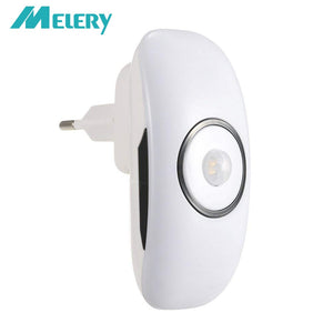 Smart Night Light PIR Motion Sensor Control Cold White Body Induction Mini  Lamp Plug-In for Bedroom Living Room Stair
