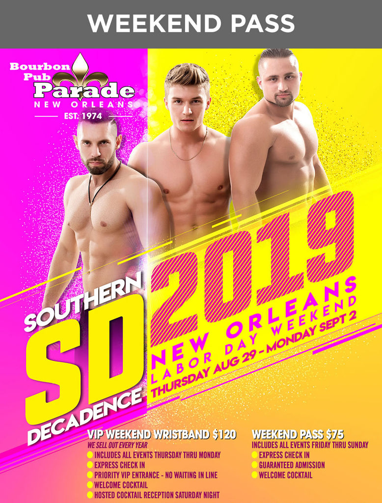 Southern Decadence Weekend Pass