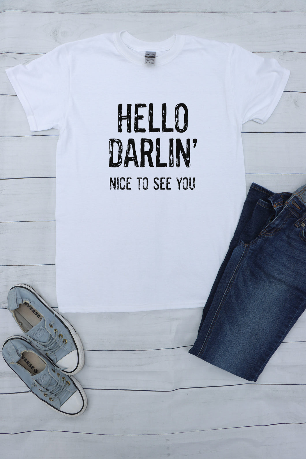 Conway Twitty 'Hello Darlin' S/S Shirt