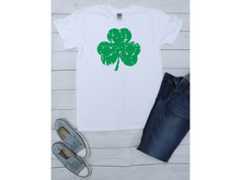 Load image into Gallery viewer, Distressed Clover S/S Shirt