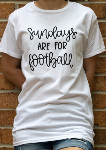 'Sundays Are For Football' S/S Shirt