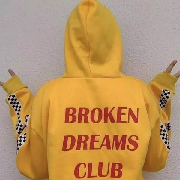 Broken Dreams Club Hoodie - Sour Puff Shop
