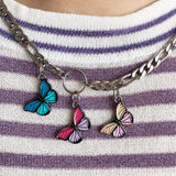 Butterfly Chain Necklace-Sour Puff Shop