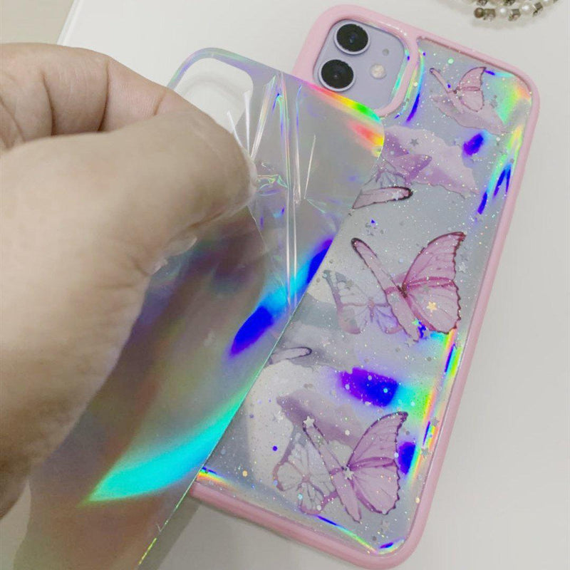 Butterfly Holo Cases 🦋💕 - Sour Puff Shop