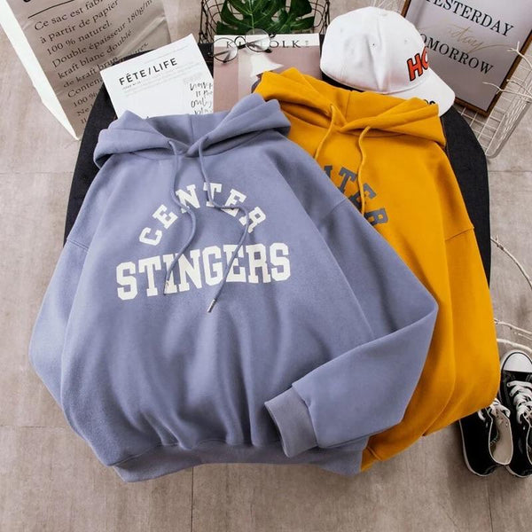 Center Stingers Hoodies - Sour Puff Shop