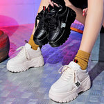 Chunky Platform Trainers-Sour Puff Shop