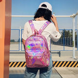 Crybaby Holographic Backpacks 💧✨-Sour Puff Shop