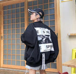 """Desire/Despair"" Oversized Jacket-Sour Puff Shop"