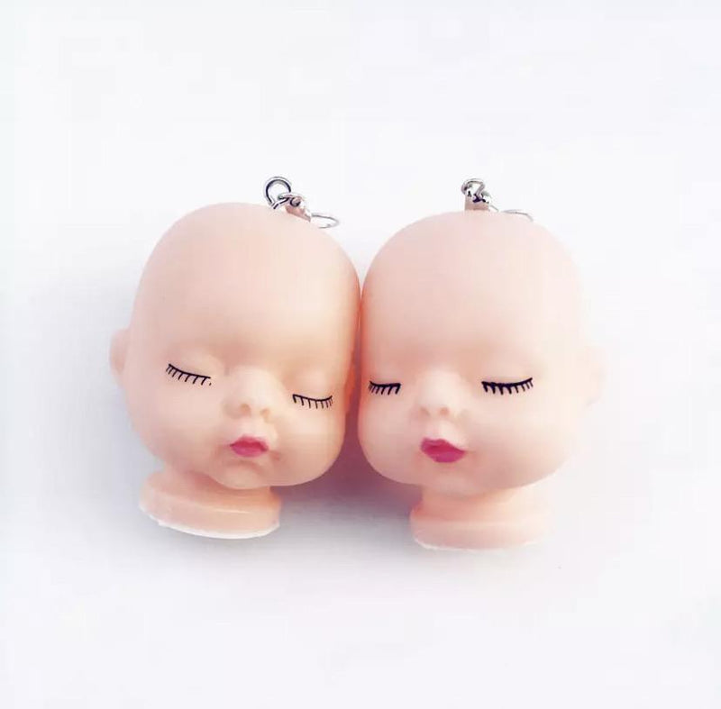 Doll Face Earrings 🌟 - Sour Puff Shop