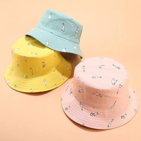 Goose Reversible Bucket Hats-Sour Puff Shop