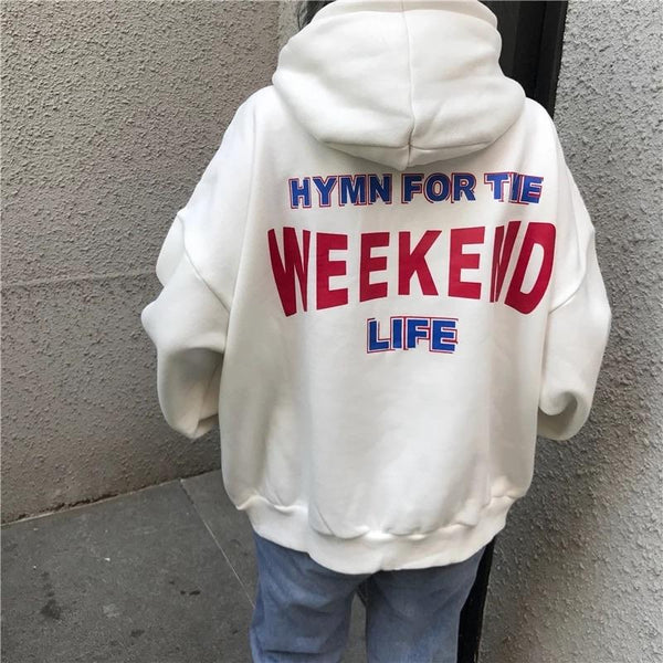 """Hymn For the Weekend Life"" Hoodies - Sour Puff Shop"