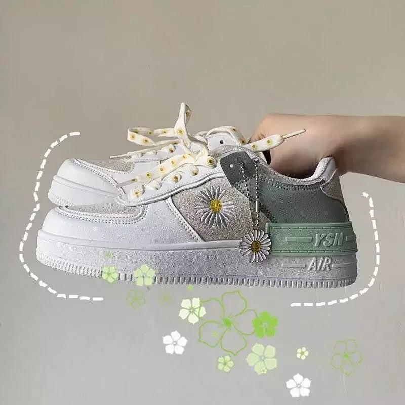 Daisy Dazed Sneakers - Sour Puff Shop