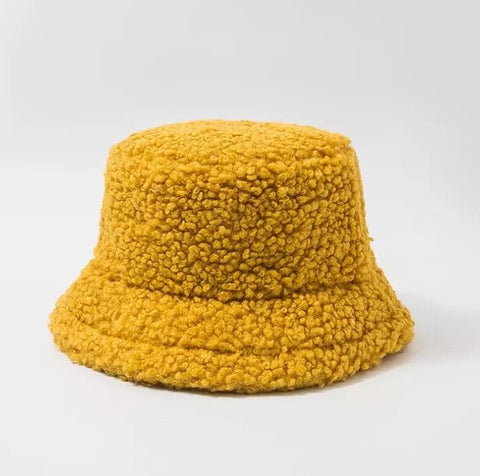 Kornelia Fluffy Bucket Hats