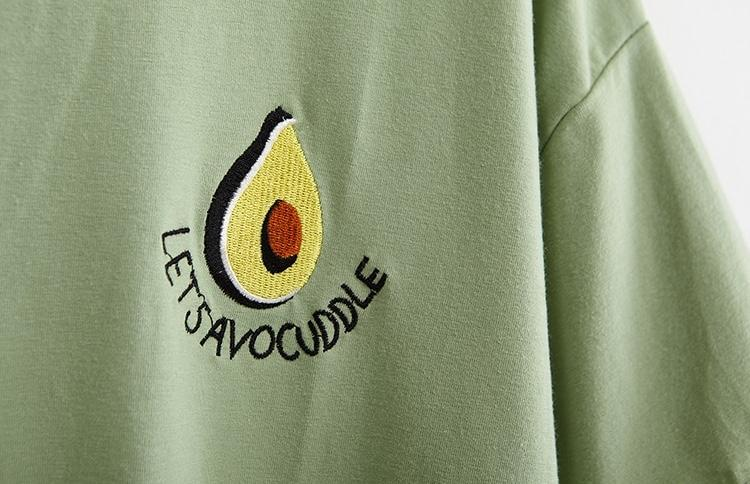 """Let's Avocuddle"" T-Shirt - Sour Puff Shop"
