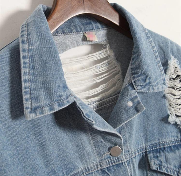 Lost in Translation Denim Jacket - Sour Puff Shop