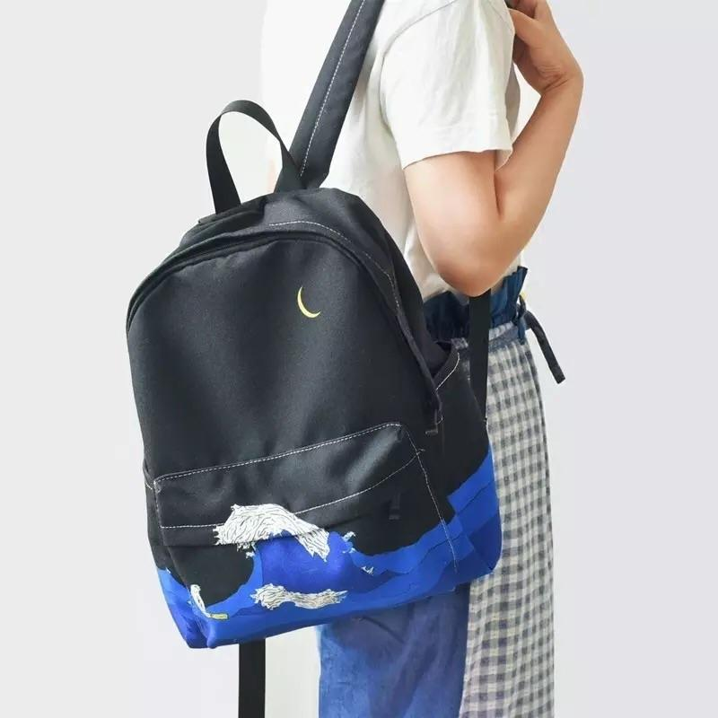 Moonlight Wave Backpack - Sour Puff Shop