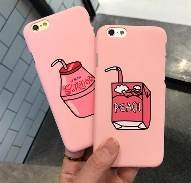 Peach n Juice box iPhone Cases - Sour Puff Shop
